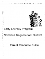 Early Literacy Parent Resource Guide