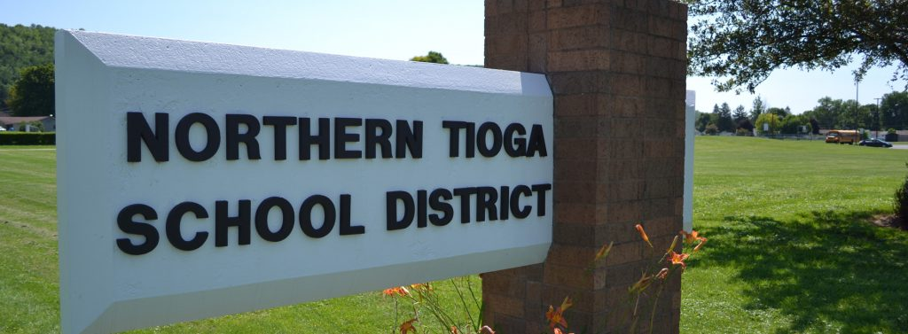 Northern Tioga School District Sign